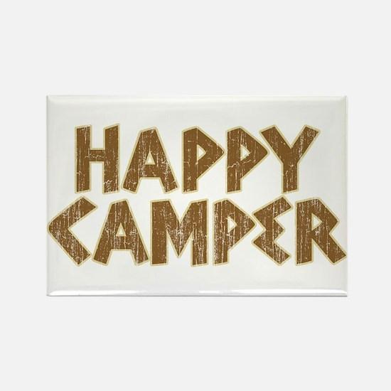 HAPPY CAMPER Rectangle Magnet (100 pack)
