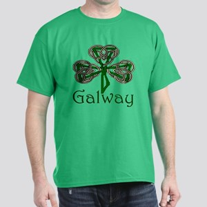 Galway Shamrock Dark T-Shirt
