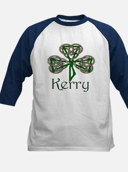 Kerry Shamrock Kids Baseball Jersey