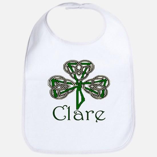 Clare Shamrock Bib