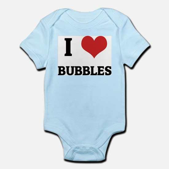 I Love Bubbles Infant Creeper
