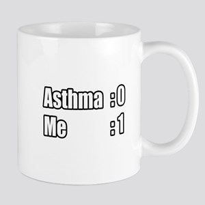 """I'm Beating Asthma"" Mug"