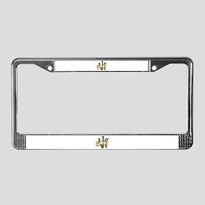 AJS License Plate Frame