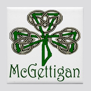 McGettigan Shamrock Tile Coaster