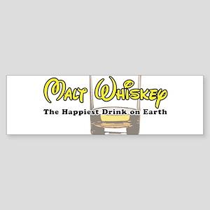 Malt Whiskey Bumper Sticker