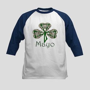 Mayo Shamrock Kids Baseball Jersey