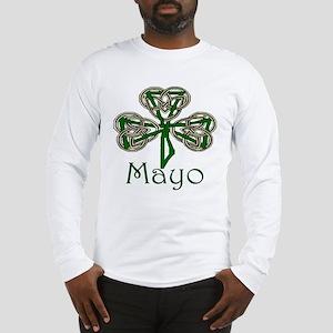 Mayo Shamrock Long Sleeve T-Shirt