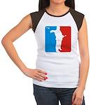 Nice Form Women's Cap Sleeve T-Shirt