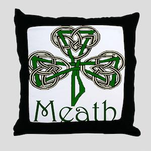 Meath Shamrock Throw Pillow