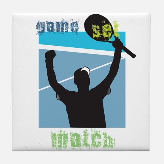 Tennis Home Tile Coaster