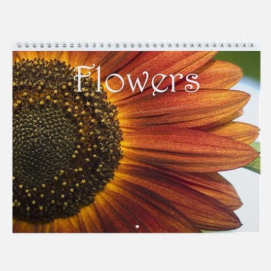 Flowers 2013 Wall Calendar
