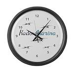 Kadow's Marina Large Wall Clock