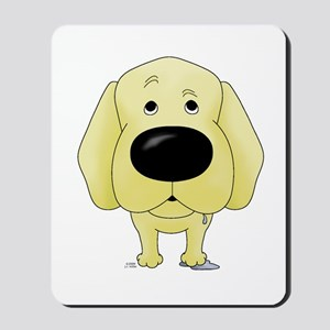 Big Nose Yellow Lab Mousepad