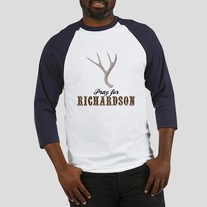 Pray for Richardson Baseball Jersey