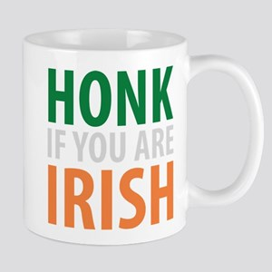 honk if you are irish Mug