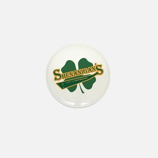 Shenanigan's Mini Button