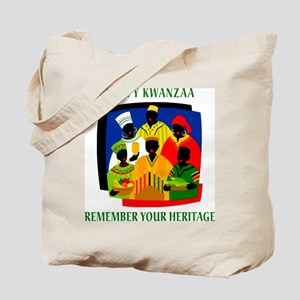 Happy Kwanzaa Tote Bag