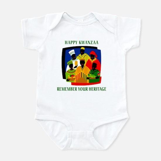Happy Kwanzaa Infant Creeper