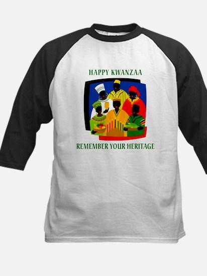 Happy Kwanzaa Kids Baseball Jersey