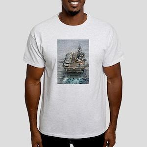 USS Bataan LHD 5 Ash Grey T-Shirt