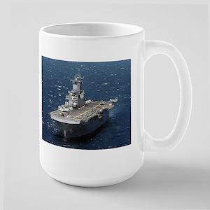 USS Kearsarge LHD 3 Large Mug