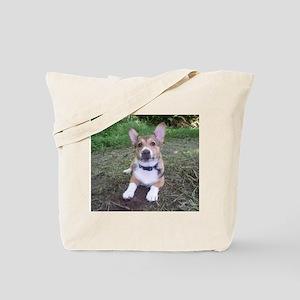 Spring Corgi Tote Bag
