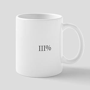 Three Percent Mug