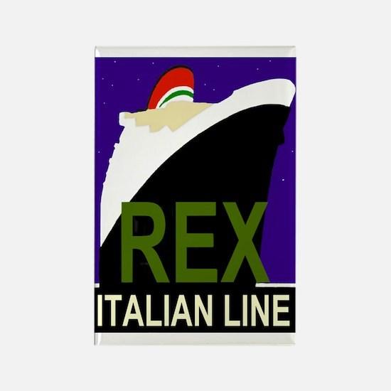 Rex Line Rectangle Magnet