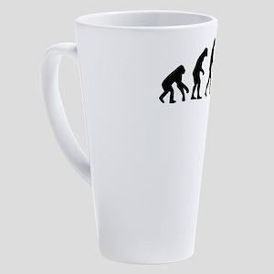 Chiropractor 17 oz Latte Mug