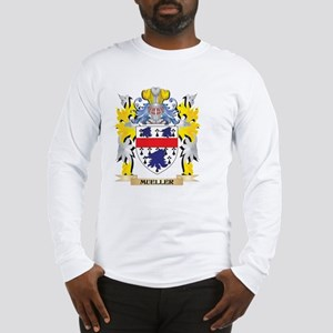 Mueller Coat of Arms - Family Long Sleeve T-Shirt