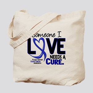 Needs A Cure 2 Colon Cancer Tote Bag