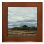 Harvest Time Framed Tile