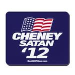 """""""Cheney-Satan '12"""" Mousepad"""