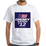 """Cheney-Satan '12"" 2-Sided T-Shirt"