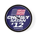 """Cheney-Satan '12"" Wall Clock"