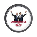 """""""Competence is Back"""" Wall Clock"""