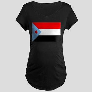 South Yemen Flag (1967) Maternity Dark T-Shirt