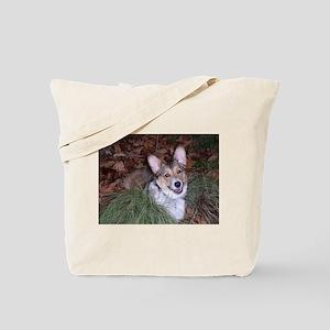 Autumn Corgi Tote Bag