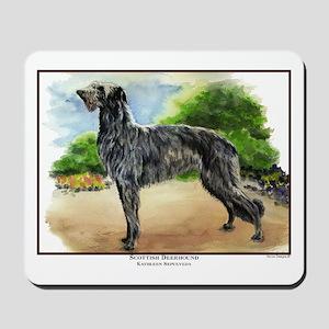 Scottish Deerhound Painting Mousepad