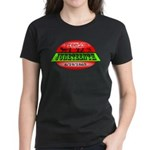 Juneteenth Logo 2 Women's Dark T-Shirt