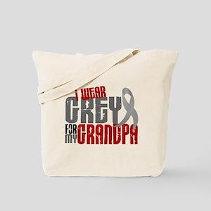 I Wear Grey For My Grandpa 6 Tote Bag