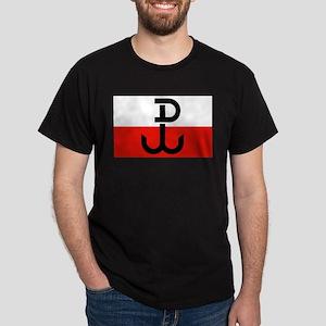Polish Resistance Flag Dark T-Shirt
