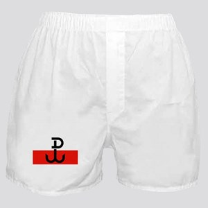 Polish Resistance Flag Boxer Shorts