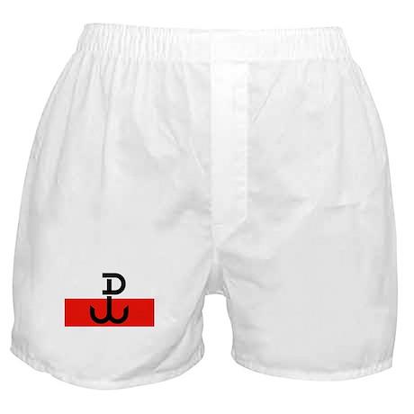 Polish Resistance Flag Boxer Shorts
