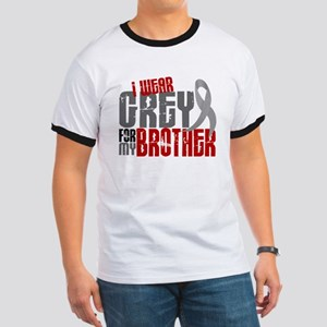 I Wear Grey For My Brother 6 Ringer T