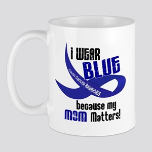 I Wear Blue For My Mom 33 CC Mug