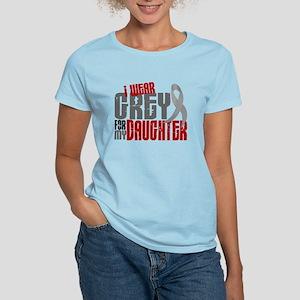I Wear Grey For My Daughter 6 Women's Light T-Shir
