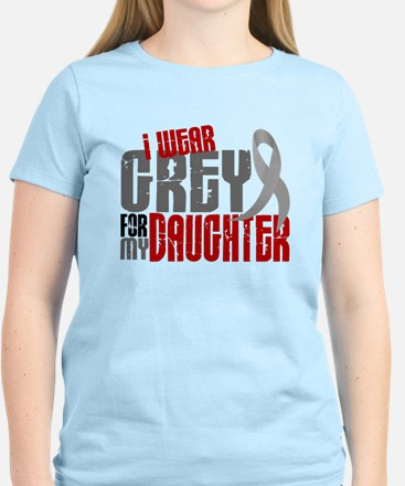 I Wear Grey For My Daughter 6 Women's Light T-Shir
