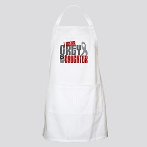 I Wear Grey For My Daughter 6 BBQ Apron