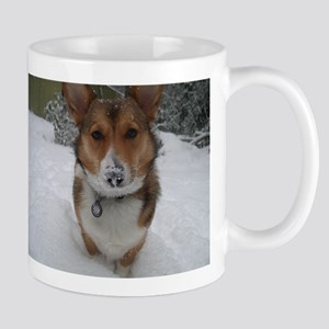 Winter Corgi Mug